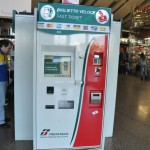 Termini station self-service ticket machine