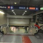 Termini station - Metro entrance