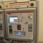 Termini station - Metro automatic ticket machine