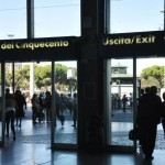 Termini station - main exit Piazza dei Cinquecento