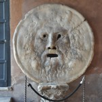 Mouth of Truth statue in Rome