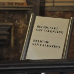 Skull of St. Valentines in Rome