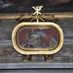 The skull of San Valentine is very ancient