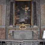 Skull of St. Valentine in Santa Maria di Cosmedin church