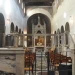 Mass is held regularly in Santa Maria in Cosmedin church
