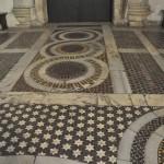 Santa Maria in Cosmedin has an amazing mosaic marble floor