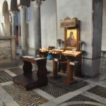 Santa Maria in Cosmedin church has an altar dedicated to Maria inside