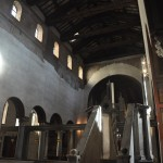 Santa Maria in Cosmedin church has a very nice internal construction structure