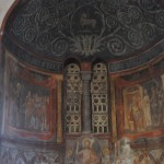 Santa Maria in Cosmedin church is decorated with astonishing paintings