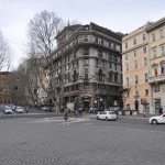 When you continue walking up Via Veneto from Piazza Barberini, on the right you'll find the American Embassy