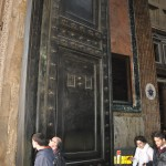 The Pantheons doors are still the originals