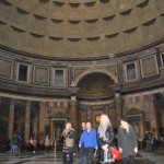 The Pantheon is an open space