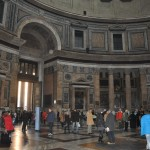 Pantheon is a greek word and means temple of all gods