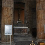 The Pantheon is a place of worship