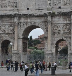 The Arch of Constantine Rome Italy
