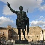 The Forum of Augustus is one of the Imperial forums of Rome