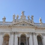 Basilica of Saint John Lateran is the cathedral church of the Diocese of Rome