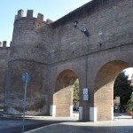 You can also see small sections of the Roman walls as you pass Piazza Magnanapoli just above Trajan's Forum