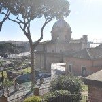 On a sunny day you can see very far standing from Capitoline Hill