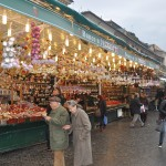 Christmas stands in Rome