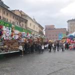 The Christmas lights of Piazza Navona Rome