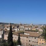 From the terrace you'll be able to shoot nice pictures of Rome