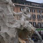 Navona square fountains