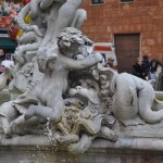 Fountain of Neptune Piazza Navona