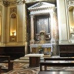This small beautiful church is located in Trastavere, a small neighborhood on the west bank of the Tiber River