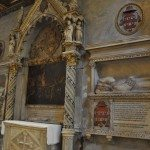 There is even a papal tomb in the Santa Maria in Trastevere Church