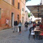 Trastevere is always crowded