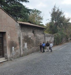 Via Appian Way, the street that starts from Rome