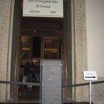 Entrance to the museum