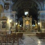Church of Santa Maria in Aracoelli is rich with arts