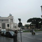 Piazza Venezia is situated in front of the impressive monument of King Vittorio Emmanuel II