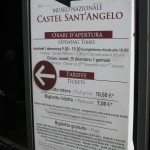There is some interesting history and magnificent architecture inside Castel Sant' Angelo