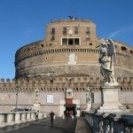 Visit Castel Sant Angelo in the evening as to enjoy the beautiful sunset and night views of Rome