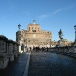 Ponte Sant Angelo is located in Rome, Italy