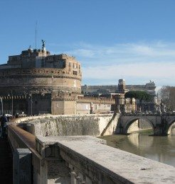 Sant' Angelo Castle in Rome Italy