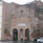 Church of St Mary of the AngChurch of St Mary of the Angels and the Martyrs in Rome near Piazza della Repubblica