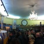 Caffe' Sant'Eustachio lies between Piazza Navona and the Pantheon