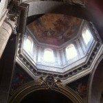 Church Santa Maria del Popolo is very close to the Metro station Flaminio