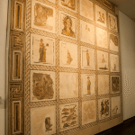 Mosaic is featured inside the National Roman Museum