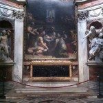 The Chigi Chapel was designed by Raphael and completed by Bernini