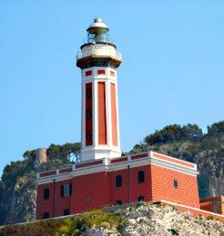punta carena lighthouse capri