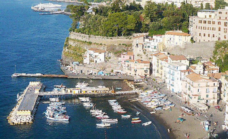 Port of Marina Grande Sorrento