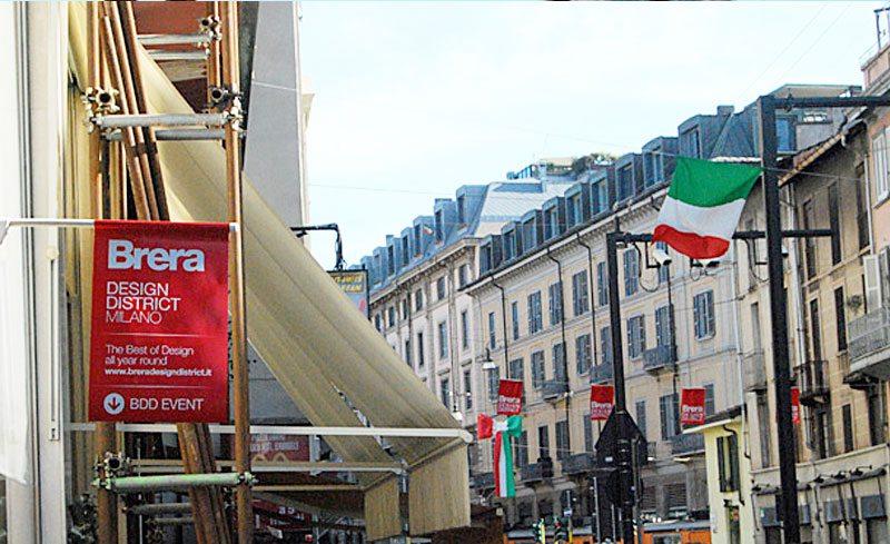Brera District Milan
